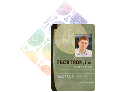 Security Overlay PVC Cards