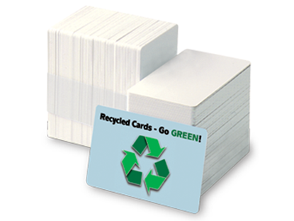 Recycled PVC Cards