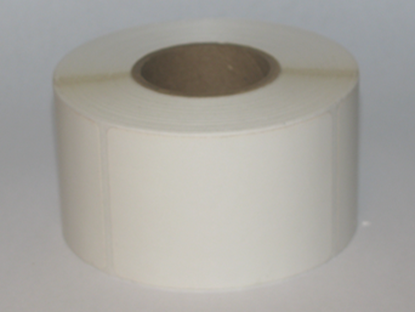 White thermal visitor labels