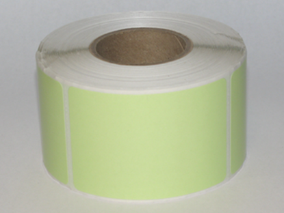 "Thermal Visitor Labels 2"" x 3"" Green"