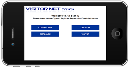 Picture for category Visitor NET Touch